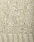 Джемпер из льна с узорной вязкой Brooks Brothers  –  Деталь