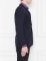 Пиджак однобортный из шерсти Isaia  –  МодельВерхНиз2