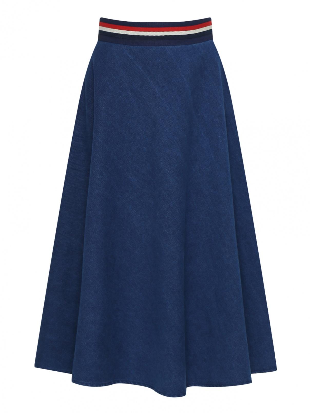 Джинсовая юбка из хлопка Bosco Fresh  –  Общий вид