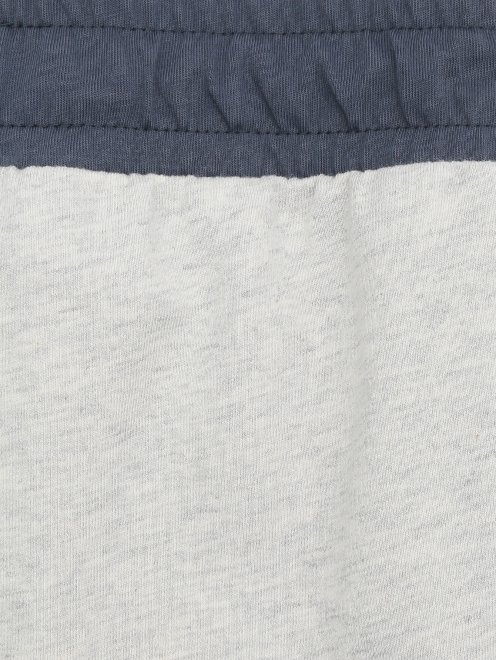 Брюки на резинке из хлопка Sanetta - Деталь