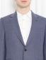 Пиджак однобортный из шерсти Paul Smith  –  МодельОбщийВид1