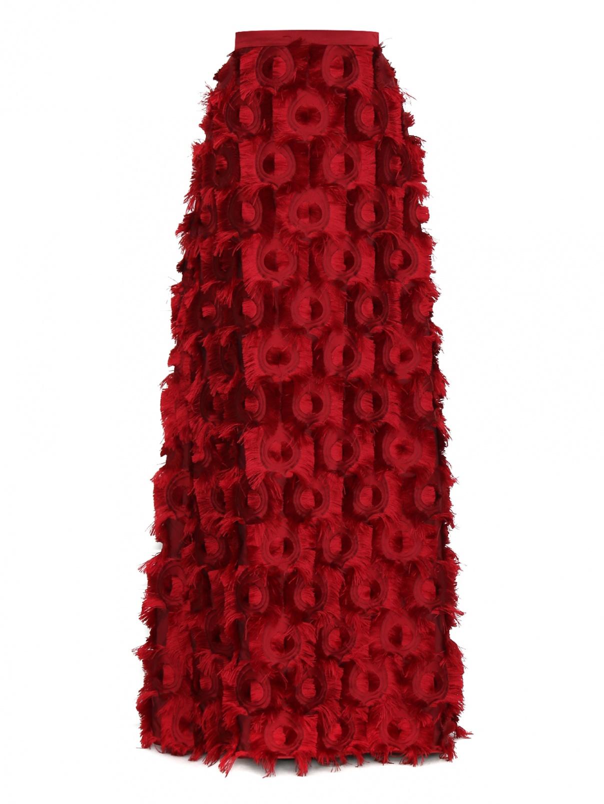 Юбка-макси с декоративной отделкой Max Mara  –  Общий вид