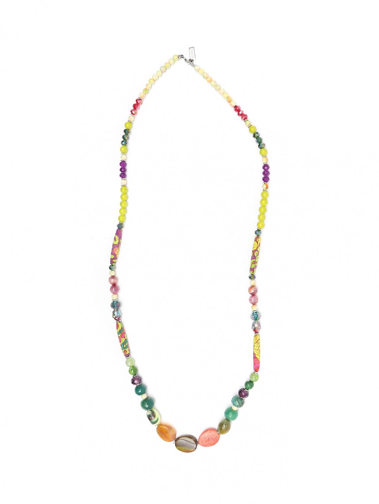 Ожерелье из бусин и камней Etro  –  Общий вид