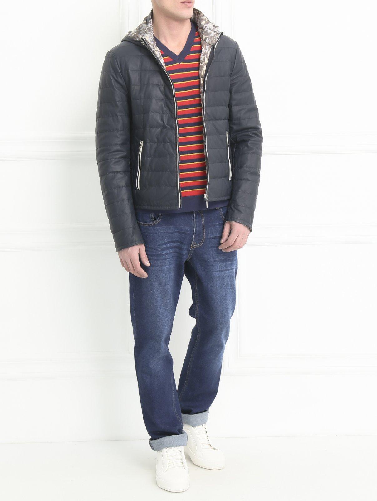 Куртка стеганая на молнии Fontanelli  –  Модель Общий вид