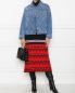 Джинсовая куртка из хлопка Marina Rinaldi  –  МодельОбщийВид