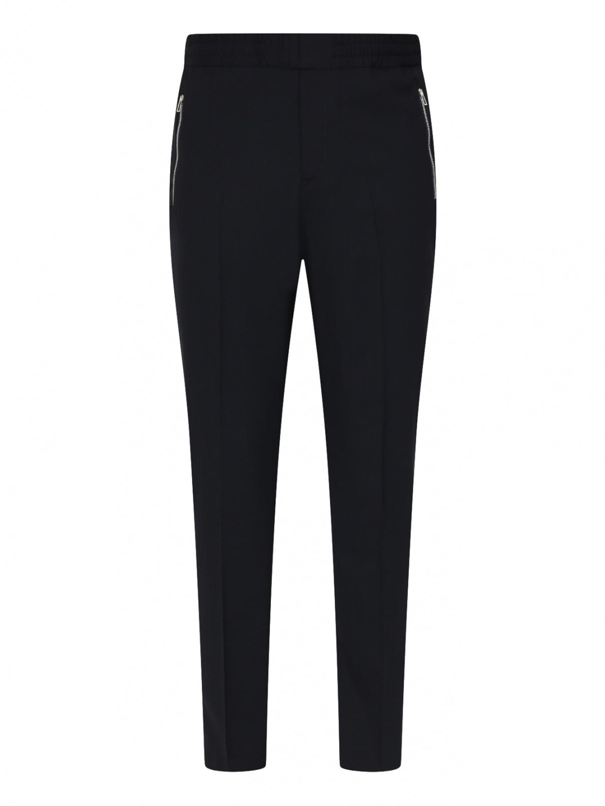 Шерстяные брюки на резинке Paul Smith  –  Общий вид