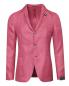 Пиджак из шерсти и льна с накладными карманами LARDINI  –  Общий вид
