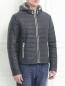 Куртка стеганая на молнии Fontanelli  –  Модель Верх-Низ