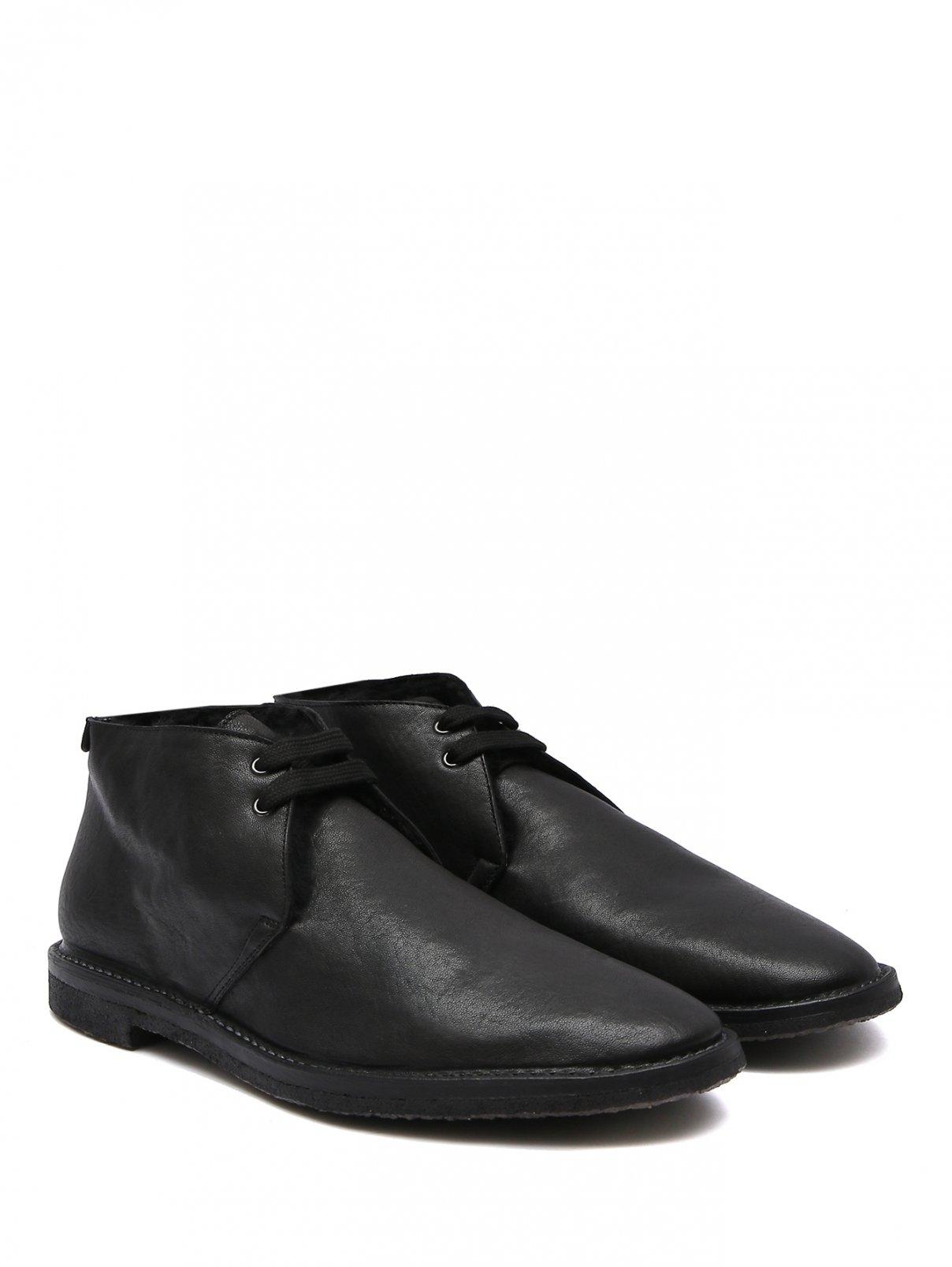 Ботинки из кожи на меху Raparo  –  Общий вид
