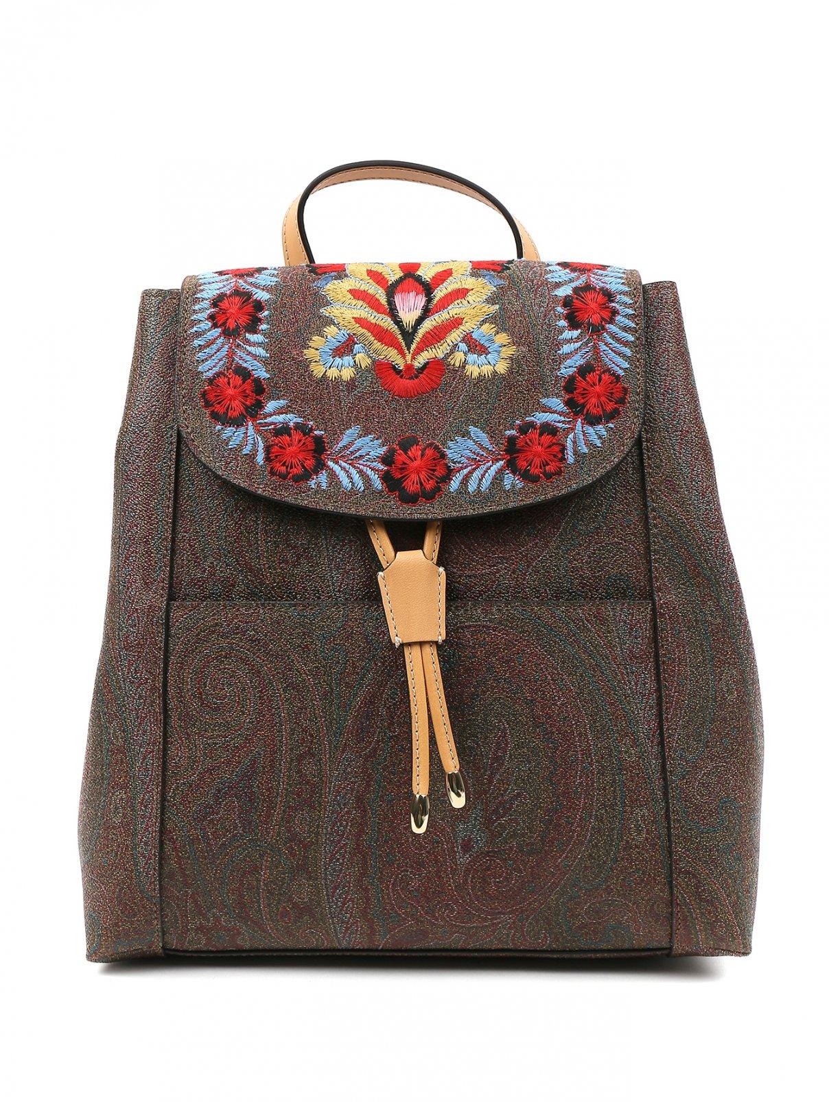 Рюкзак с принтом и вышивкой Etro  –  Общий вид