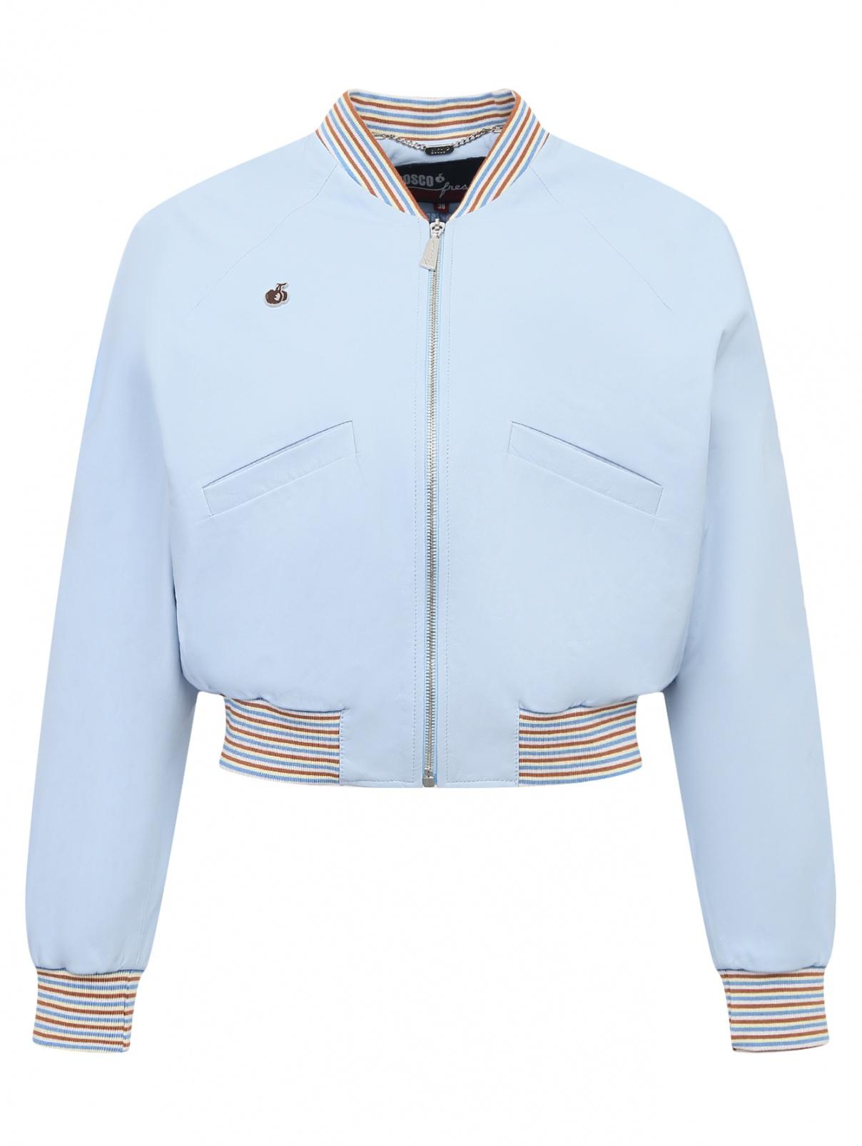 Куртка из кожи на молнии Bosco Fresh  –  Общий вид