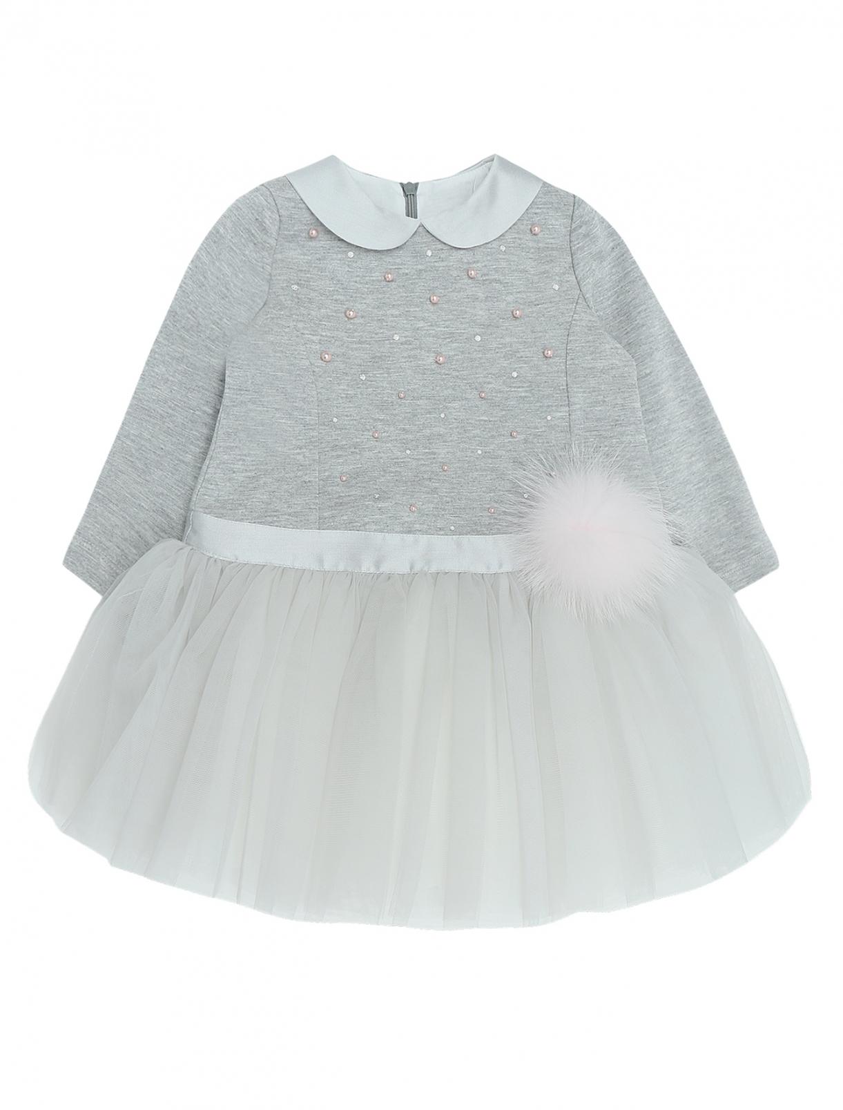 Платье с пышной юбкой Bibi  –  Общий вид