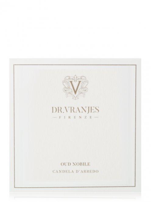 Свеча Oud Nobile Slate 500 г Home Fragrance Dr. Vranjes - Обтравка2
