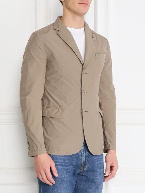 Куртка на пуговицах - Модель Верх-Низ