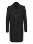 Пальто двубортное из шерсти Jean Paul Gaultier  –  Общий вид