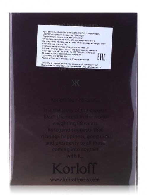 Туалетная вода - Majestic Tuberrose, 50ml Korloff - Модель Верх-Низ