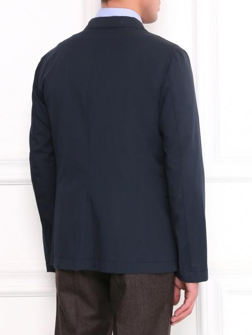 Легкий однобортный пиджак из хлопка  - Модель Верх-Низ1