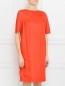 Платье из хлопка и шелка с боковыми карманами Chapurin  –  Модель Верх-Низ