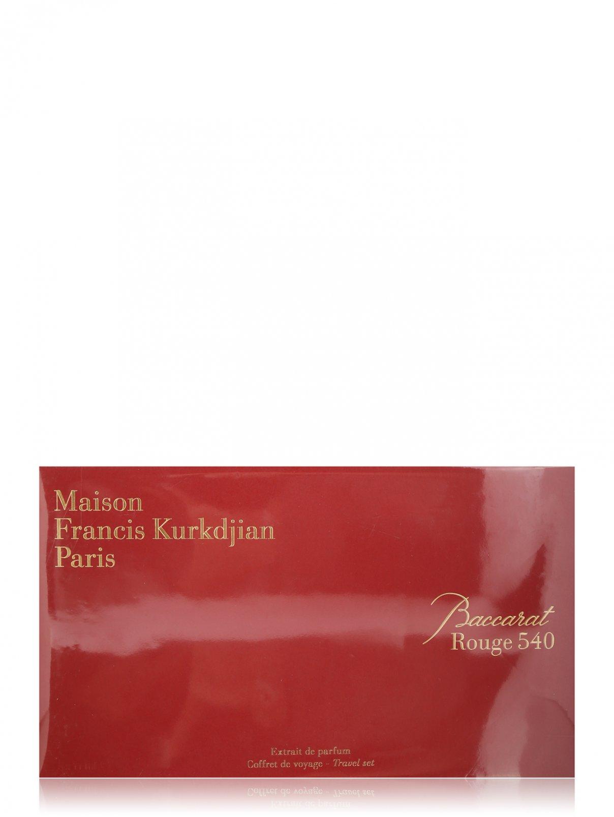Набор рефилов с атомайзером 5*11 мл Baccarat Rouge 540 Maison Francis Kurkdjian  –  Общий вид