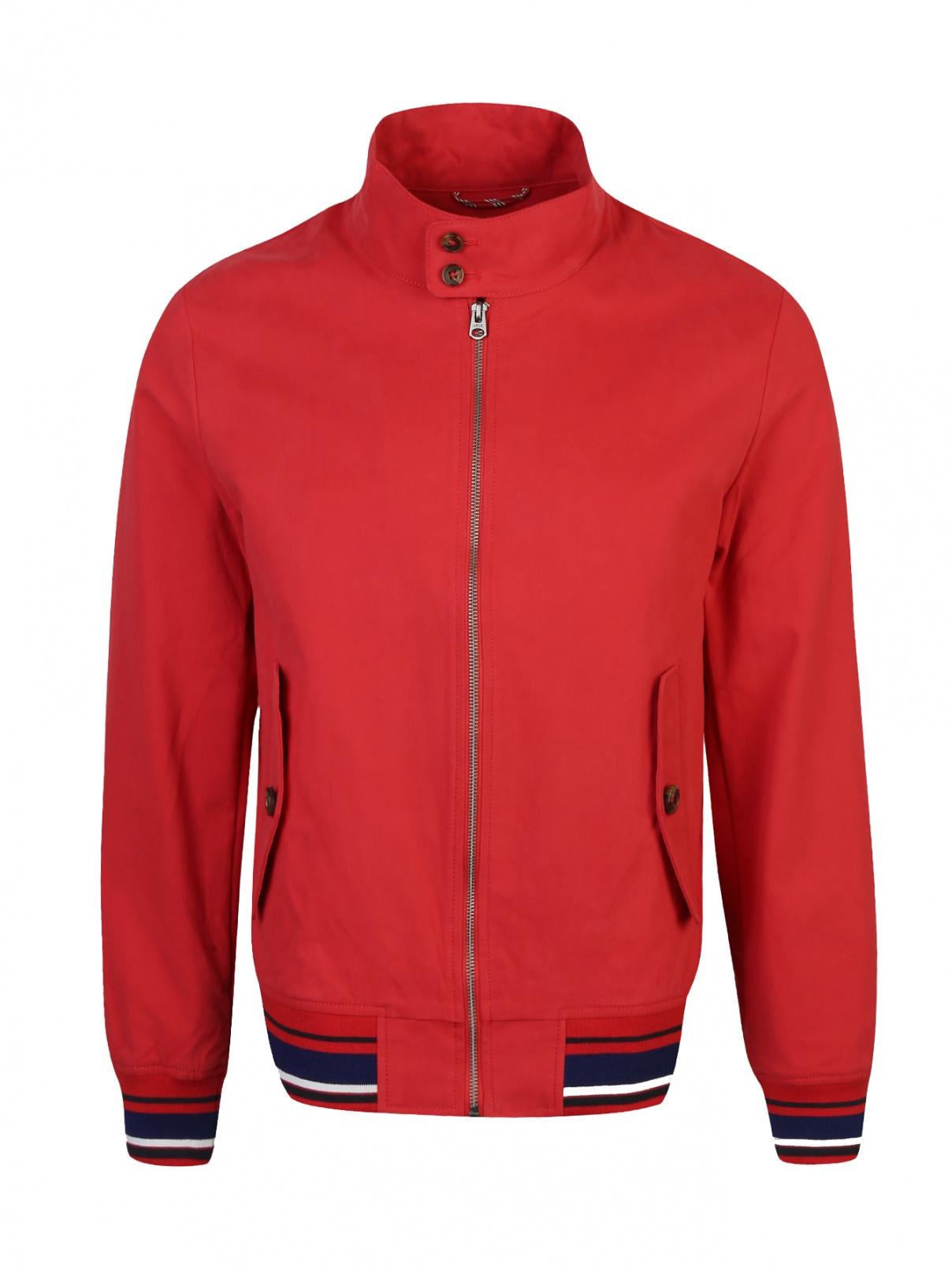 Куртка из хлопка на молнии Brooks Brothers  –  Общий вид