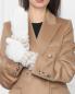 Перчатки трикотажные из смесового мохера Max Mara  –  МодельОбщийВид