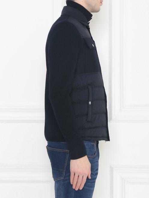 Куртка трикотажная из шерсти Moncler - МодельВерхНиз2