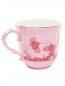 Чайная чашка из фарфора с узором и золотой окантовкой Richard Ginori 1735  –  Обтравка1