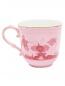 Чайная чашка из фарфора с узором и золотой окантовкой Richard Ginori 1735  –  Обтравка2