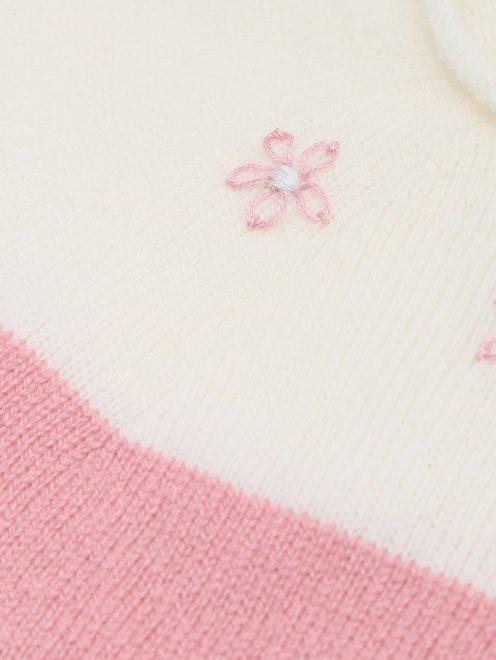 Подарочный набор из кашемира с вышивкой Tomax - Деталь