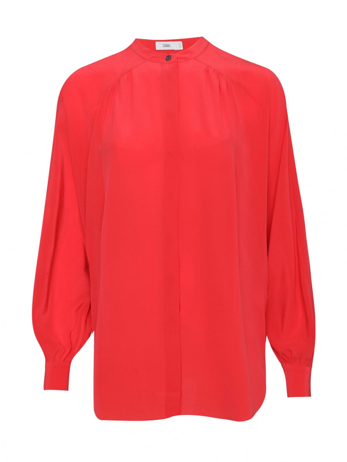 Блуза из шелка свободного кроя CLOSED  –  Общий вид