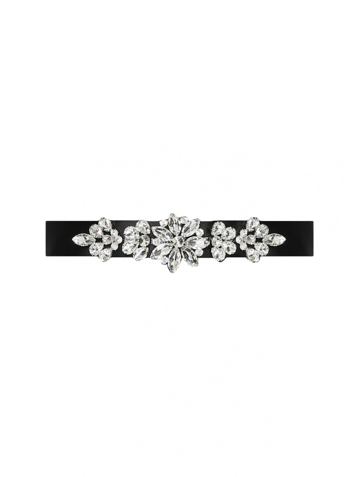 Пояс декорированный кристаллами Marina Rinaldi  –  Общий вид