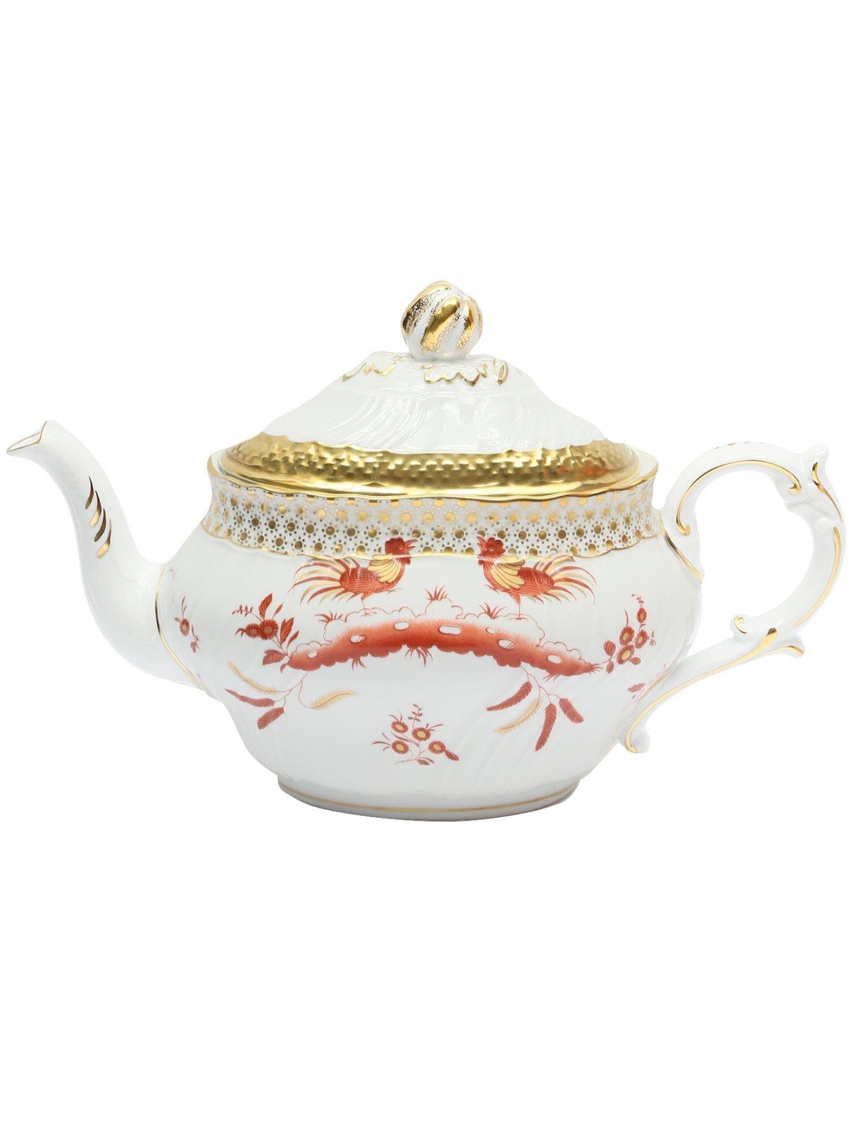 Чайник с узором Richard Ginori 1735  –  Общий вид