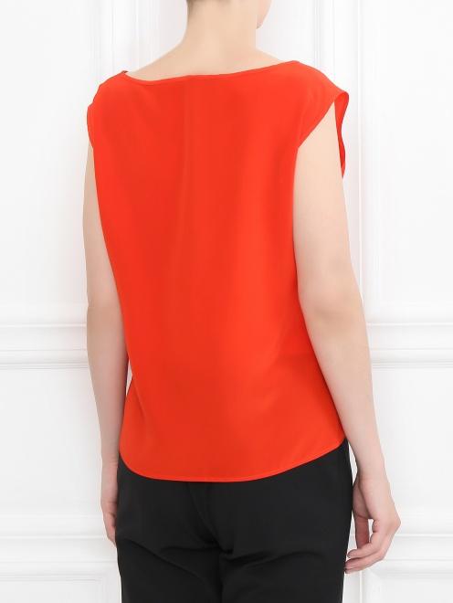 Блуза из шелка с дополнительными рукавами - МодельВерхНиз1