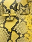 Сумка из кожи с тиснением под рептилию Ermanno Scervino  –  Деталь