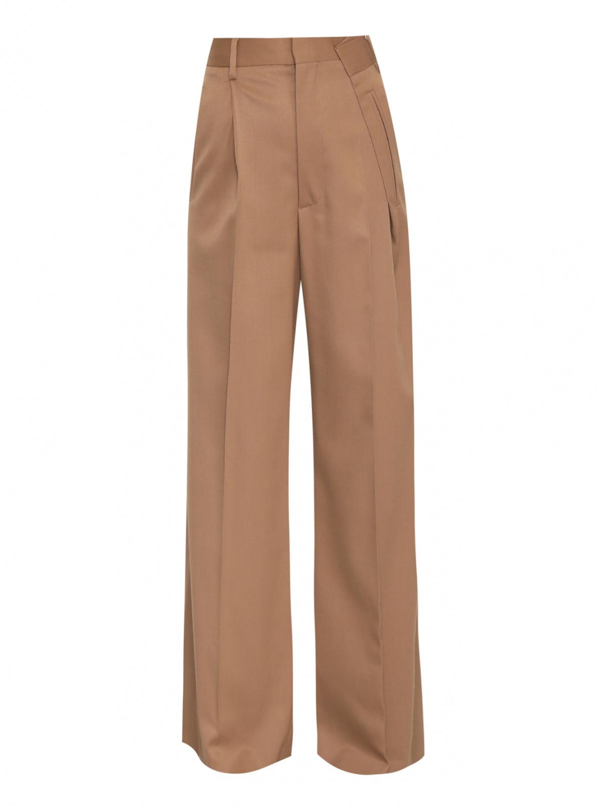 Широкие брюки свободного кроя со стрелками MM6  –  Общий вид