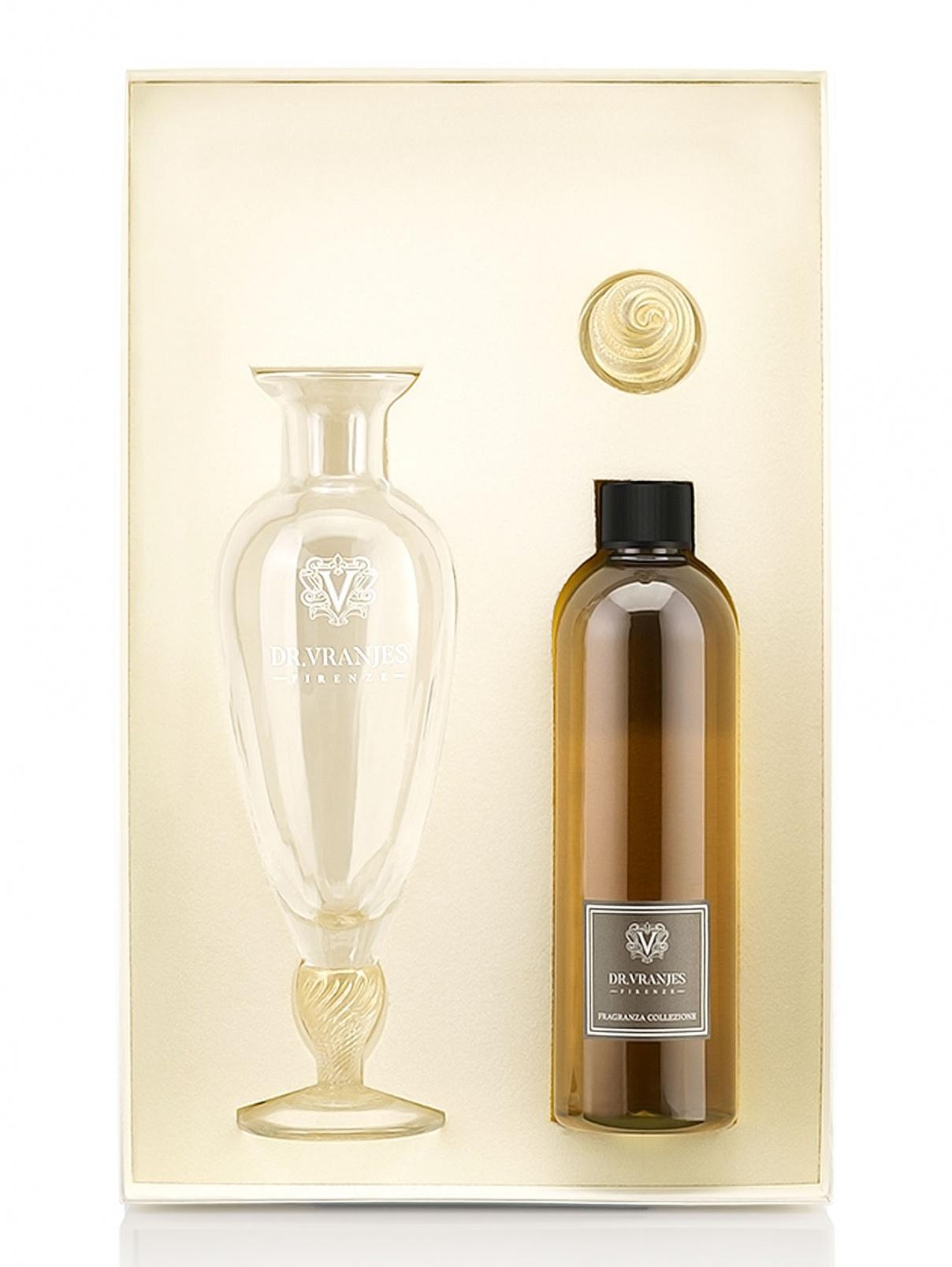 Набор с хрустальной вазой Giardini di Boboli 500 мл Home Fragrance Dr. Vranjes  –  Общий вид
