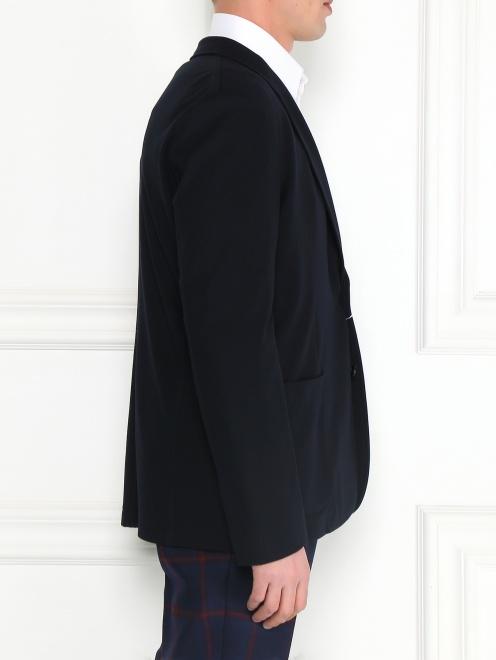 Пиджак однобортный - Модель Верх-Низ2