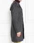 Пальто из шерсти с узором Etro  –  МодельВерхНиз2
