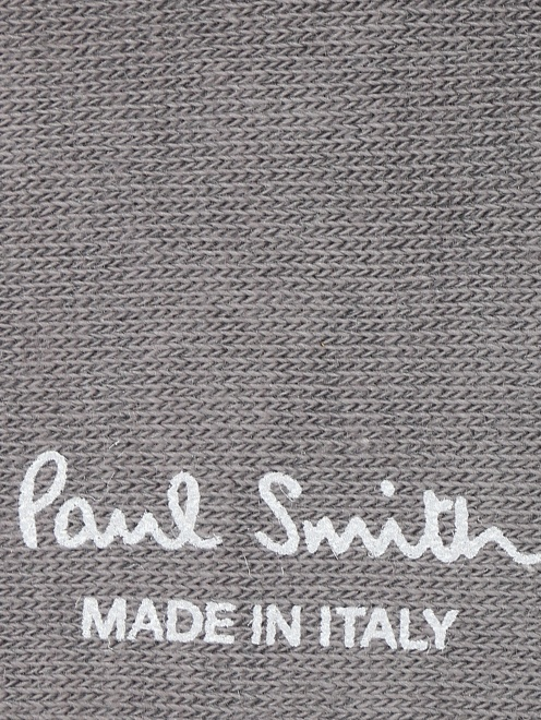 Носки из хлопка с узором Paul Smith - Деталь1
