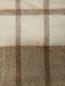 Плед в клетку с бахромой из шерсти 150 x 200 Agnona  –  Деталь