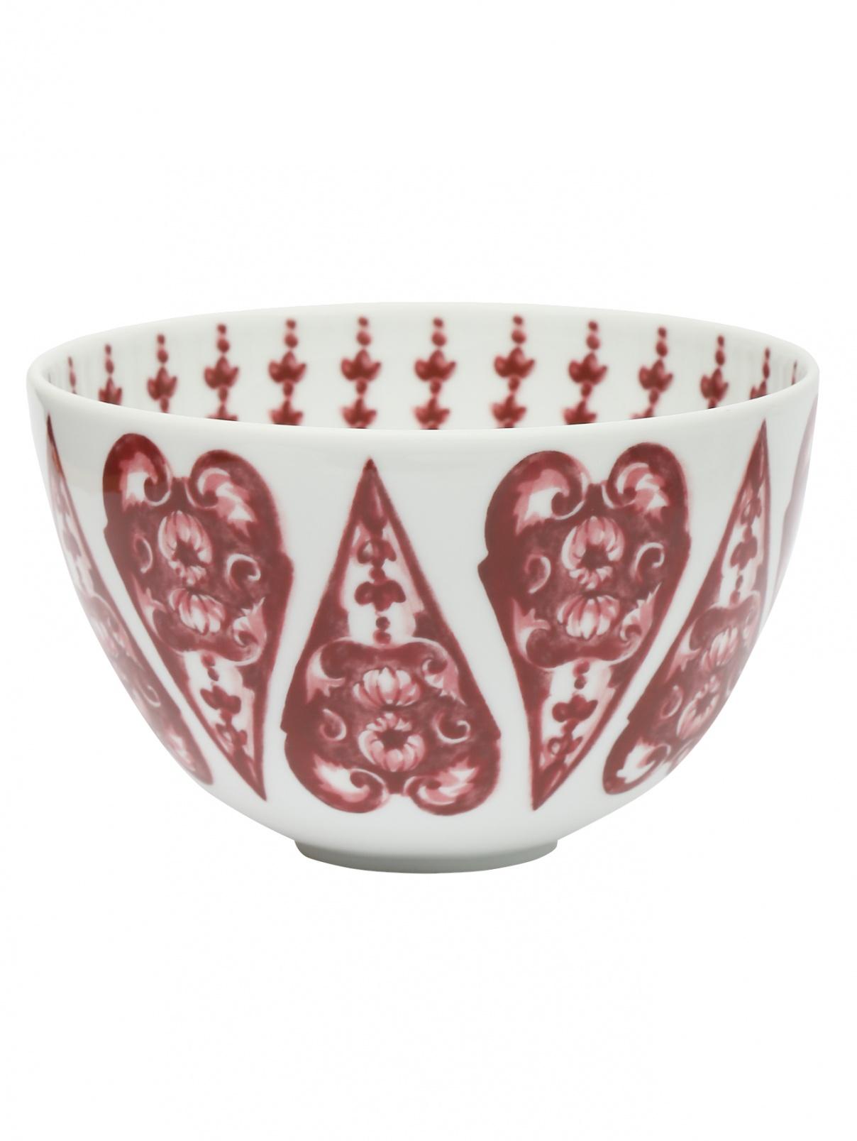 Чаша из фарфора с орнаментом Richard Ginori 1735  –  Общий вид