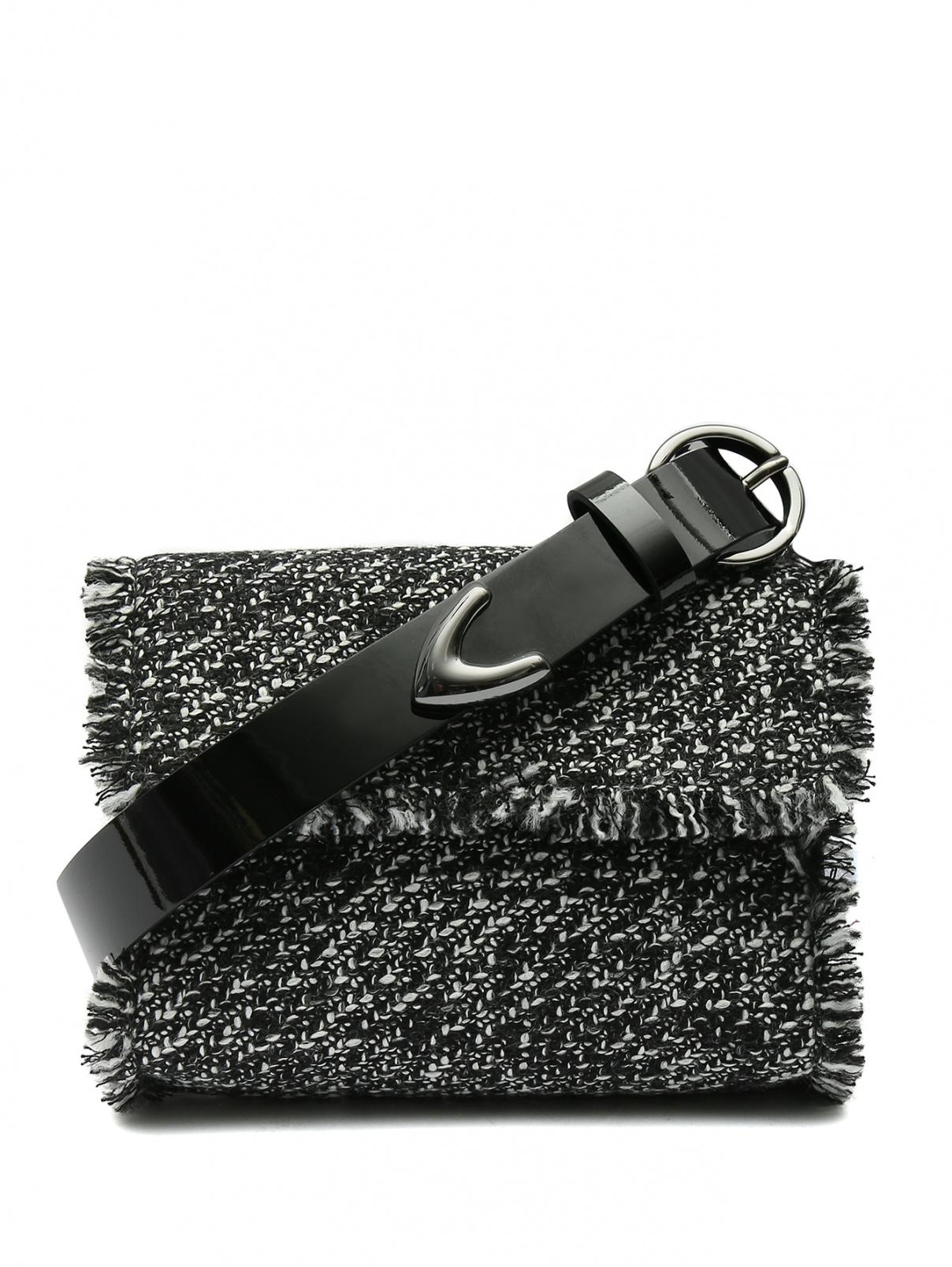 Ремень из кожи с сумкой на цепочке Marina Rinaldi  –  Общий вид