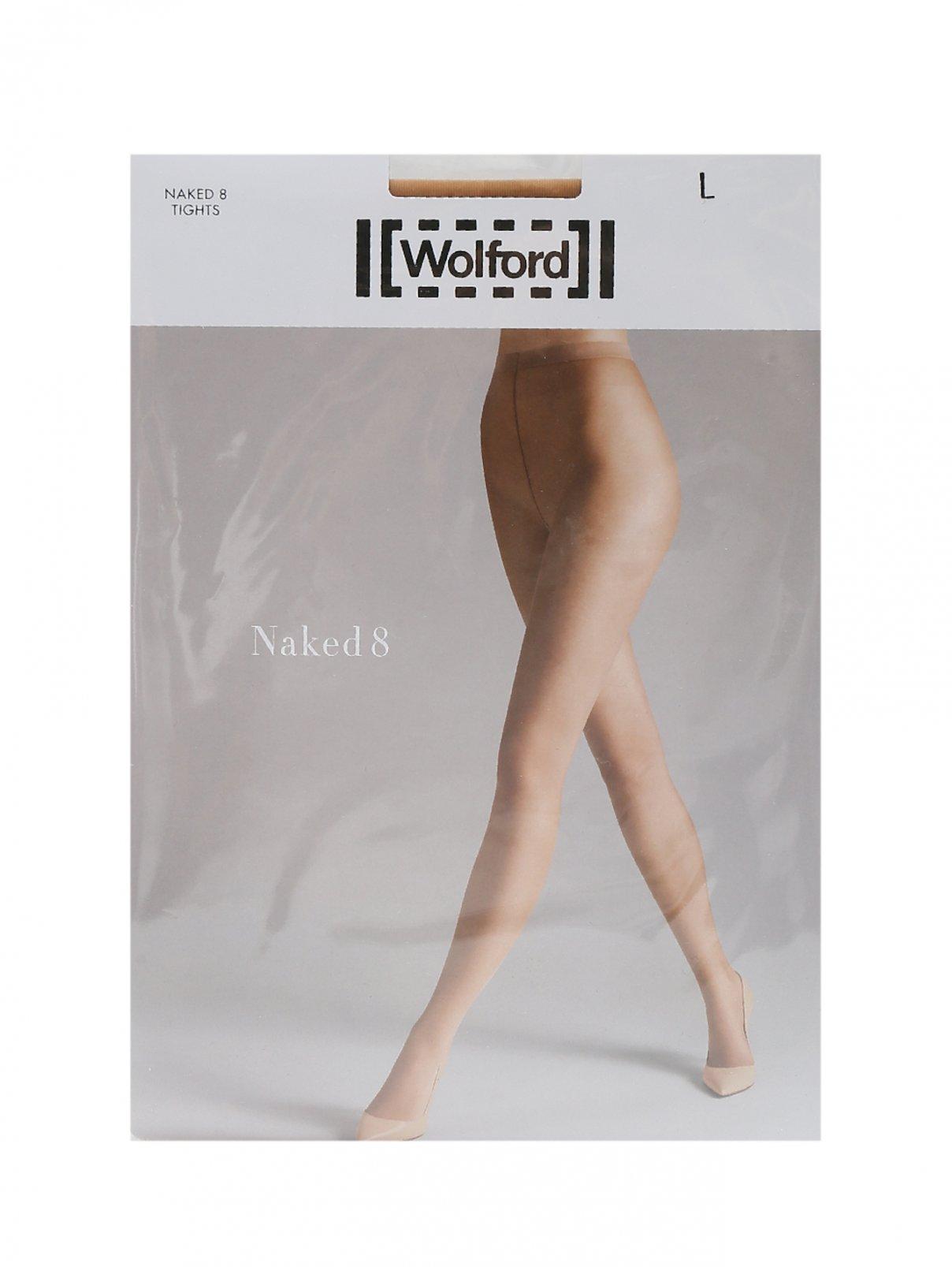 Колготки бежевые 8 den Wolford  –  Общий вид