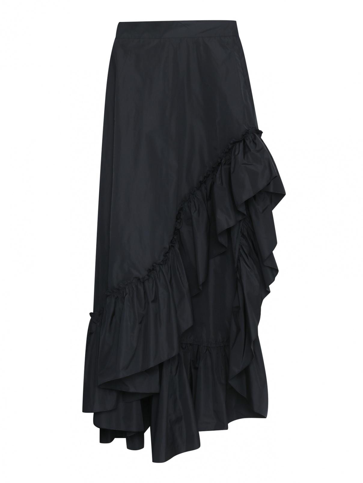 Ассиметричная юбка макси с воланом Max Mara  –  Общий вид