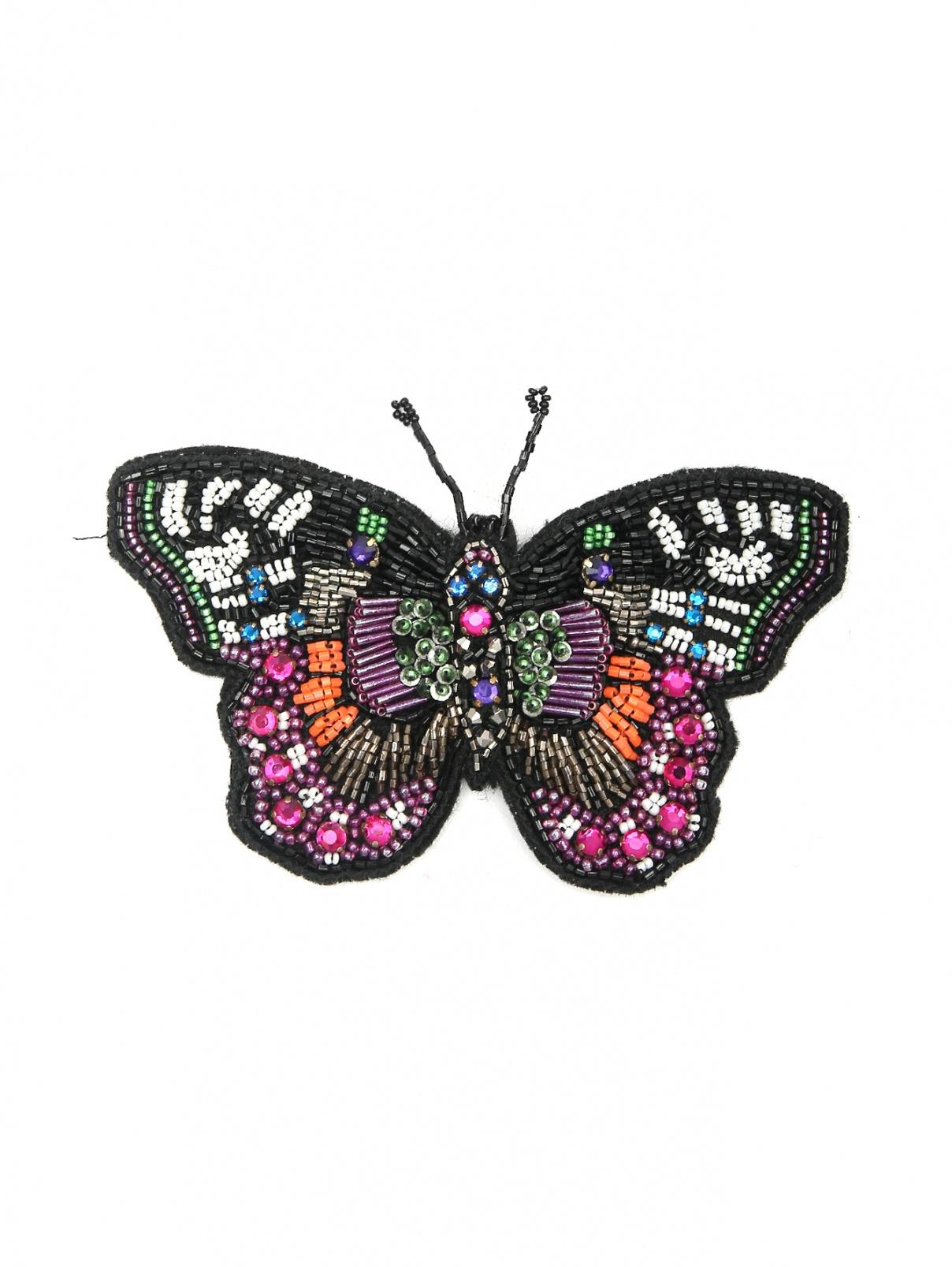 Брошь декорированная бисером Marina Rinaldi  –  Общий вид