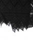 Шарф из смешанного шелка с кружевной отделкой Barbara Bui  –  Деталь1