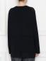 Блуза из вискозы однотонная Persona by Marina Rinaldi  –  МодельВерхНиз1