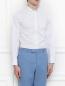 Рубашка из хлопка Brooks Brothers  –  Модель Верх-Низ