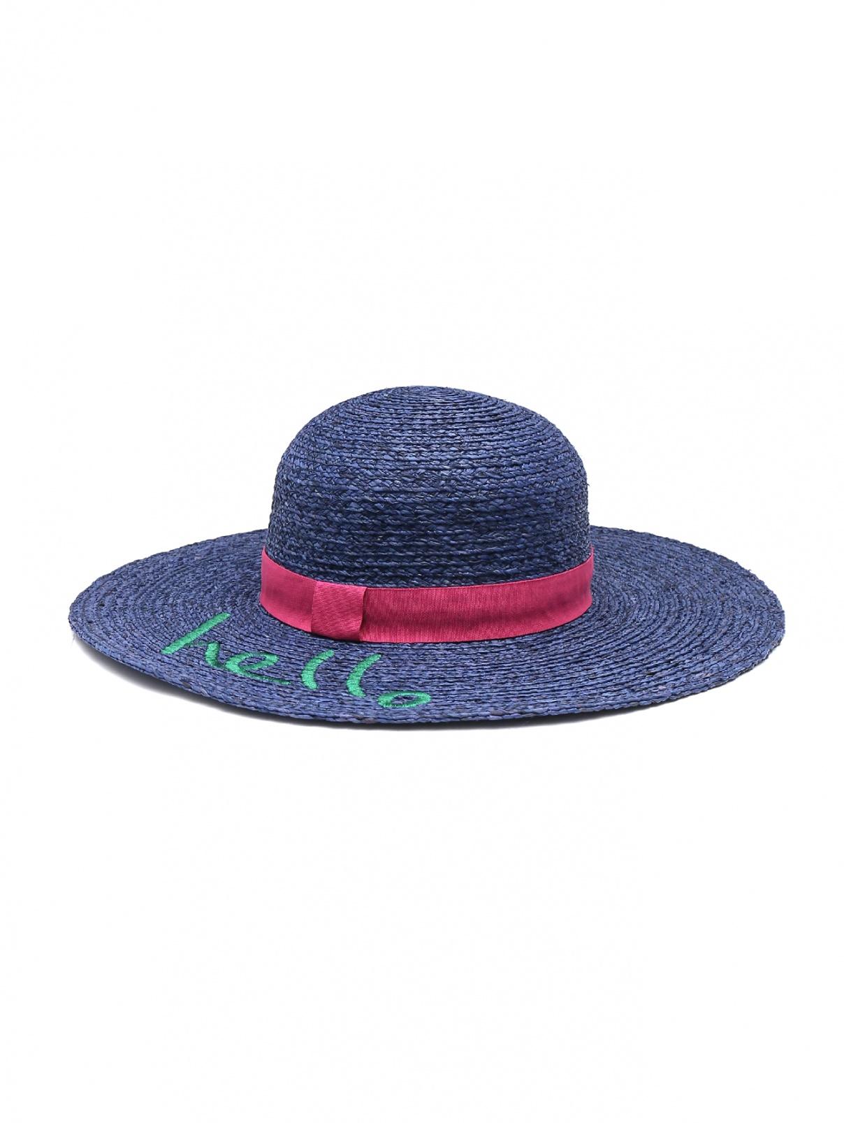Шляпа соломенная с вышивкой Paul Smith  –  Общий вид