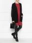 Кардиган из шерсти и кашемира с отделкой люрексом Moncler  –  МодельОбщийВид